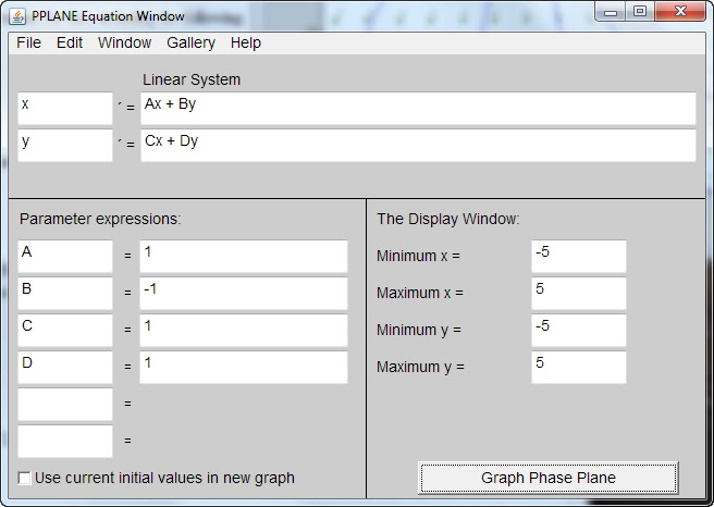 College Frenzy: Math Tool: A Java Program