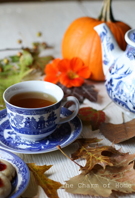 October Tea/Garden Journal by The Charm of Home