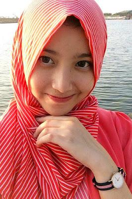 tutorial hijab l cewek manis cute