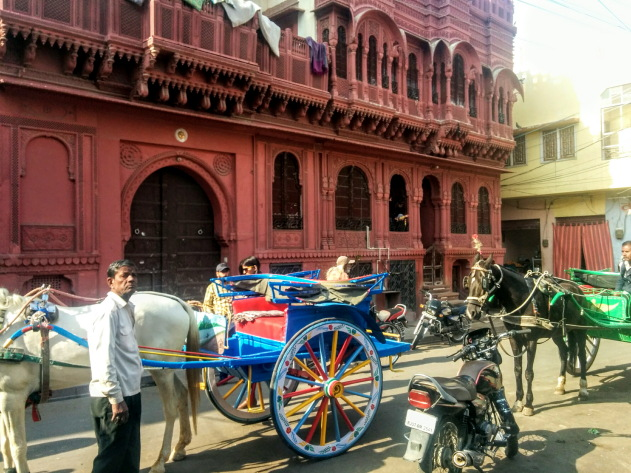 On the haveli trail in Bikaner, Rajasthan, India