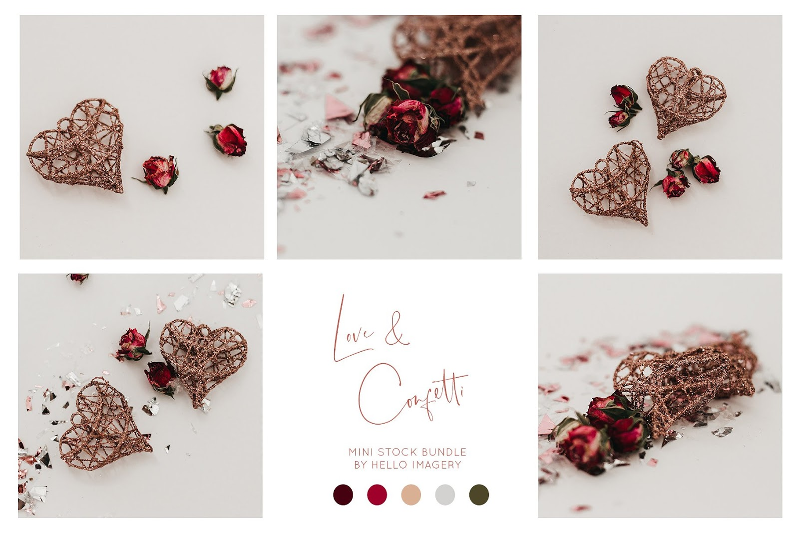 Love Confetti Mini Stock Bundle
