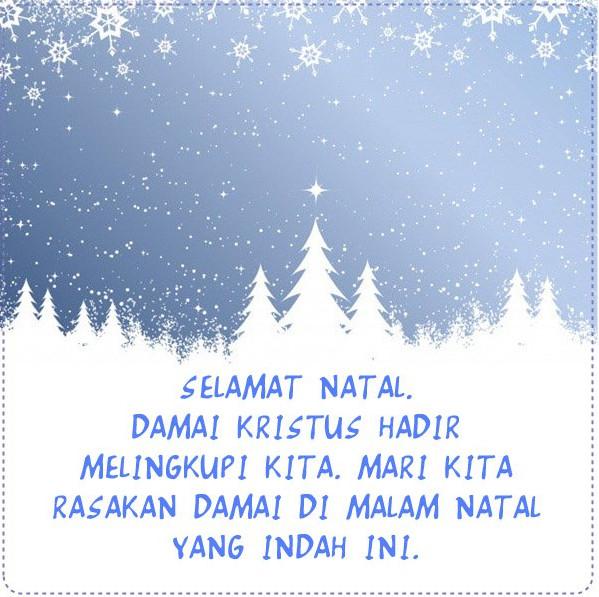 Selamat Hari Raya Natal dan Tahun Baru