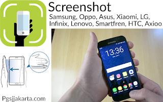 Cara mudah menjalankan screenshot atau tangkap layar di Hp Android samsung untuk semua tipe