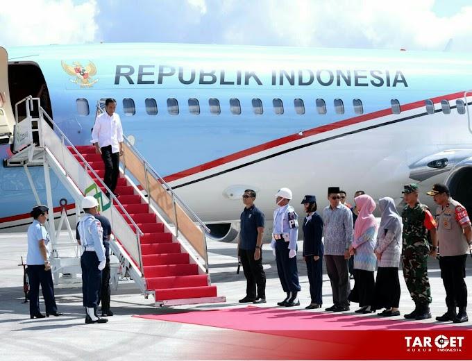 Presiden Joko Widodo Tinjau Kawasan Ekonomi Khusus, Mandalika di Lombok