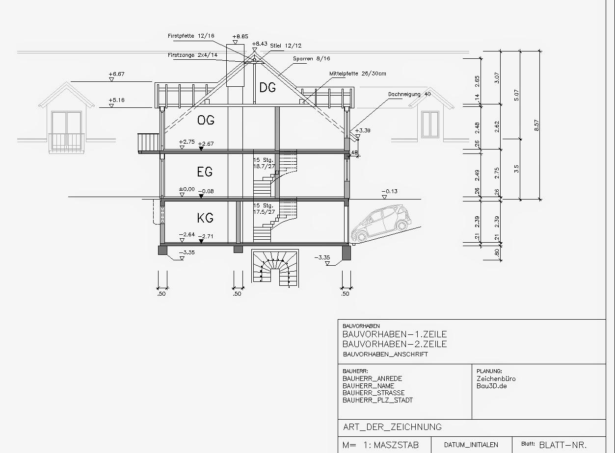 ausf hrungsplanung bema ung grundriss zeichnen. Black Bedroom Furniture Sets. Home Design Ideas