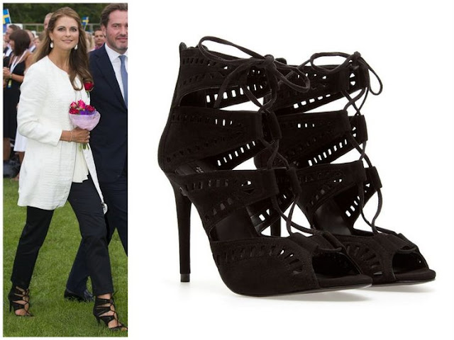 Princess Madeleine and Zara Shoes