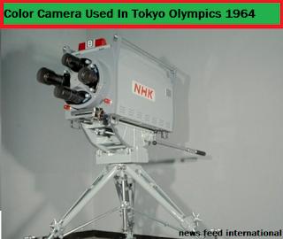 tokyo 1964 olympics camera
