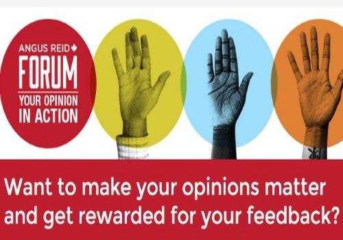 Angus Reid Forum Voice Your Opinion & Earn Money