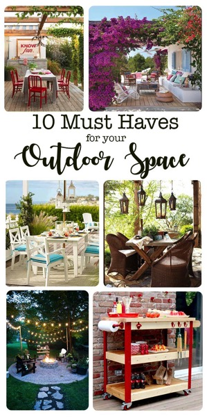 10 Porch and Patio Projects Perfect for Summer. From full backyard makeovers to building projects and decor ideas, these 10 must haves will get you exited to fix up your outside space for summer.