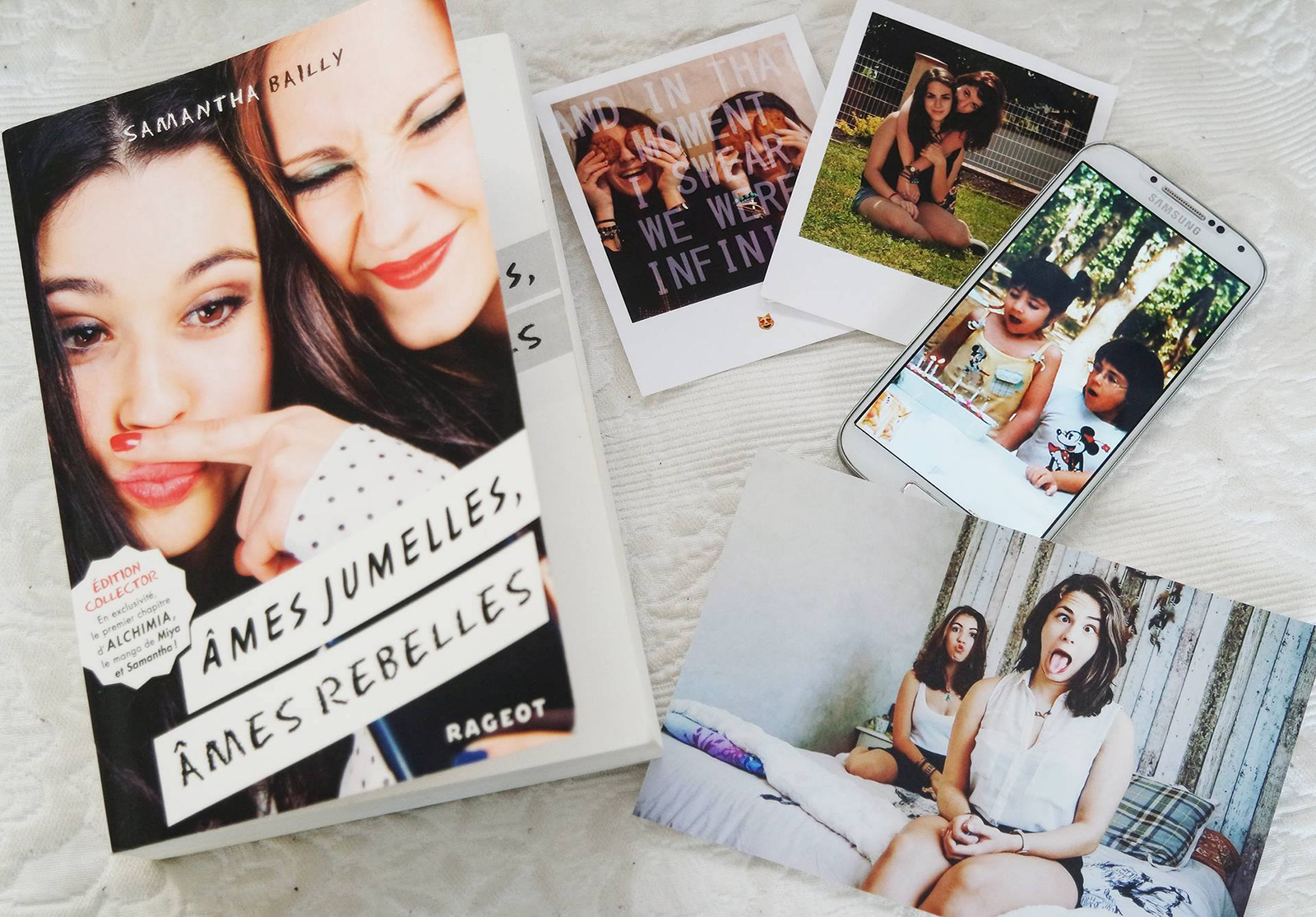 Ames jumelles ames rebelle Samantha Bailly Coin des licornes avis livre
