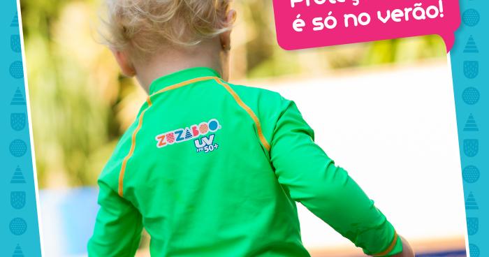 Fashionistas Kids  Nesse inverno as camisetas Zuzaboo® garantem proteção  dos raios UVA e UVB! aa33213691