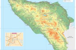 Peta Aceh HD Gambar Lengkap, Terbaru dan Keterangannya