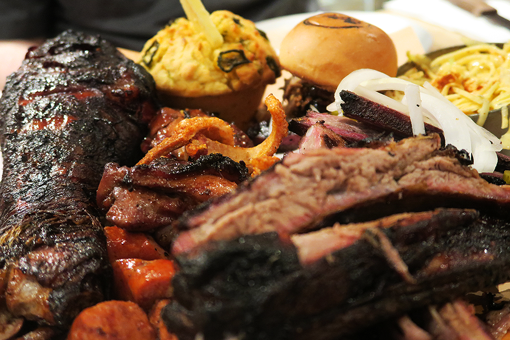 Smoke Sharer Platter at Smoke Barbecue Leeds
