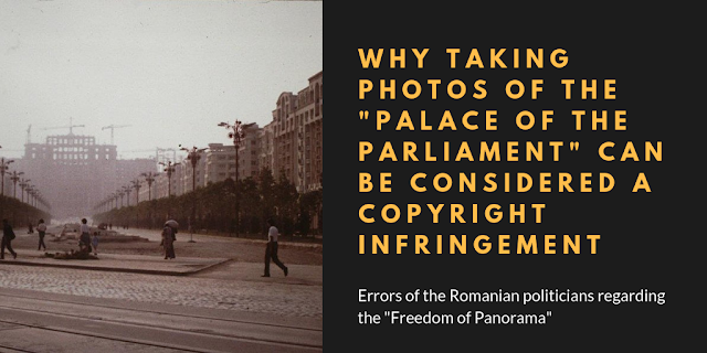 Why taking photos of the Palace of the Parliament can be considered a copyright infringement