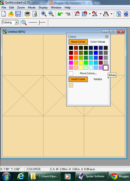 Mistress of Quilts: Quilt Assistant - A Free Downloadable ...Quilt Drawing Program