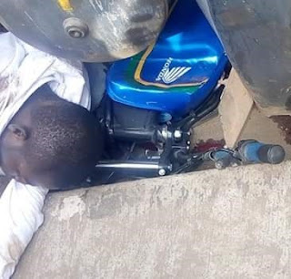 Ondo Bike Rider Crushed To Death by Petrol Tanker Few Weeks After His Wedding