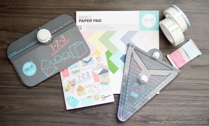 We R Memory Keepers 1-2-3 Punch Board Party Collection HSN Party Pack #HSNPartyPack