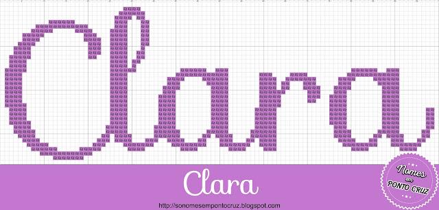 Nome Clara em Ponto Cruz
