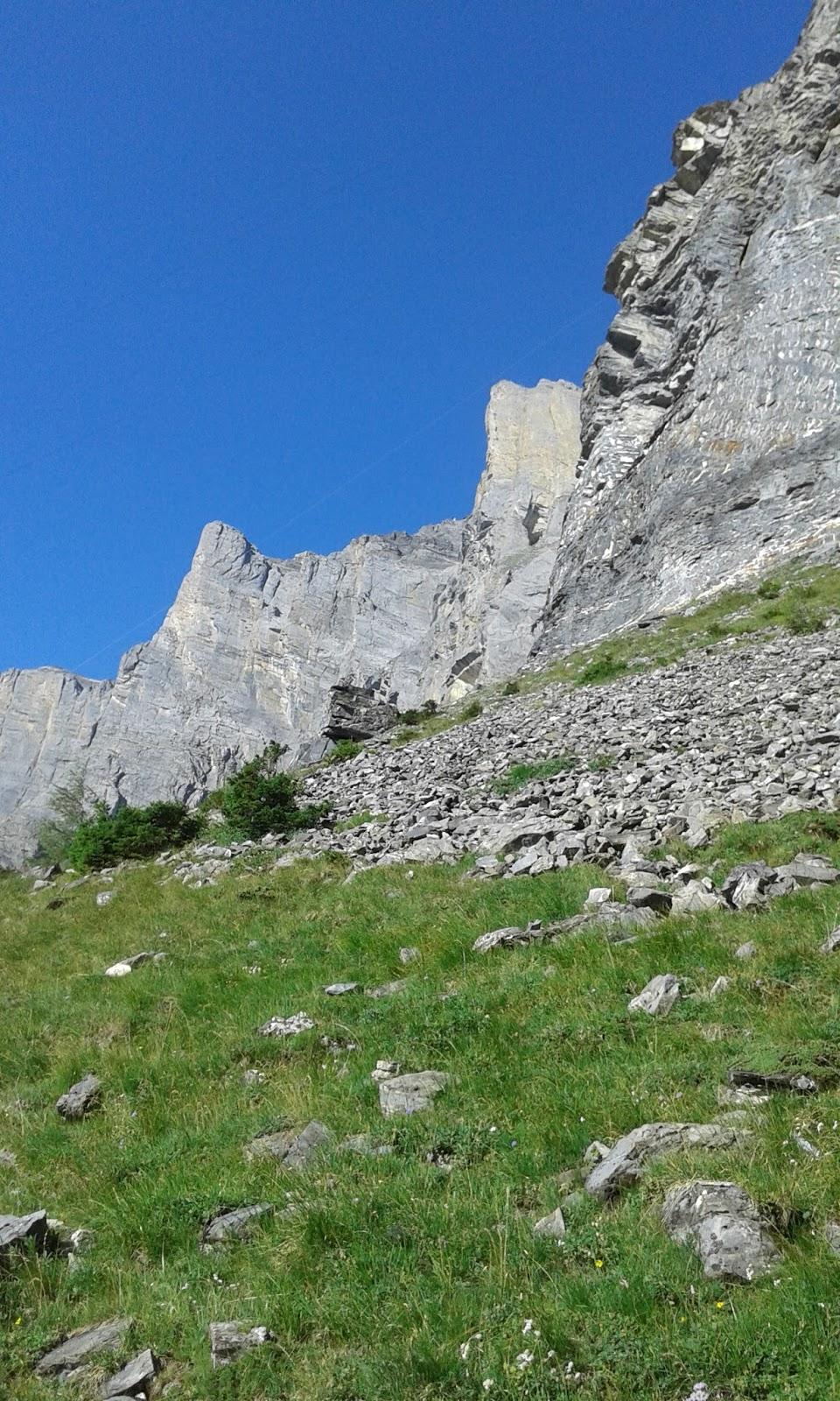 En la Montaña: FERRATA GEMMI-DAUBENHORN- I SECCIÓN