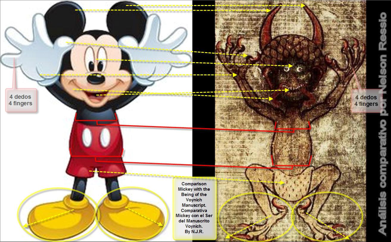 Mickey Mouse y el Demonio del Codex Gigas, el Manuscrito Voynich, la ...