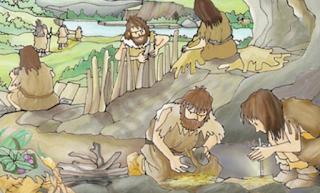 A vida na Prehistoria