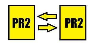 contoh perhitungan pagerank dengan dua halaman