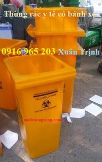 thùng rác y tế tại đăk lăk