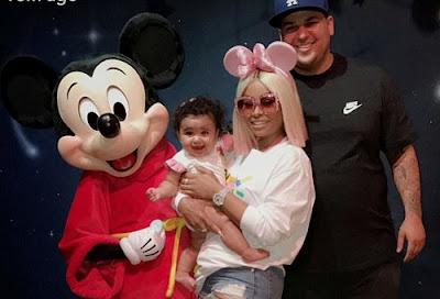 Blac Chyna and Rob Kardashian Celebrate Father's Day Together