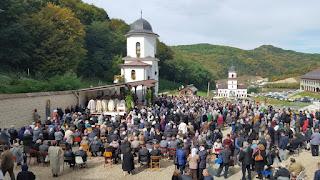 Acoperamantul Maicii Domnului, Hramul Manastirii Floresti, Cluj