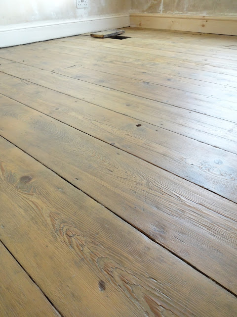 floorboards with character