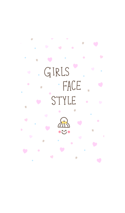 GIRLS FACE STYLE2