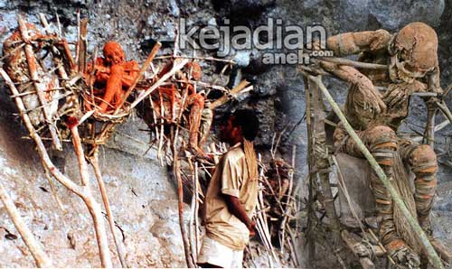 Ritual Mumi Asap Suku Angga di Papua Nugini