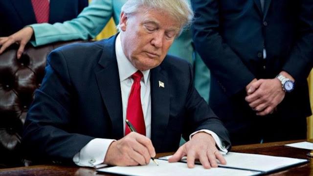 Trump prorroga sanciones antirrusas por crisis en Ucrania