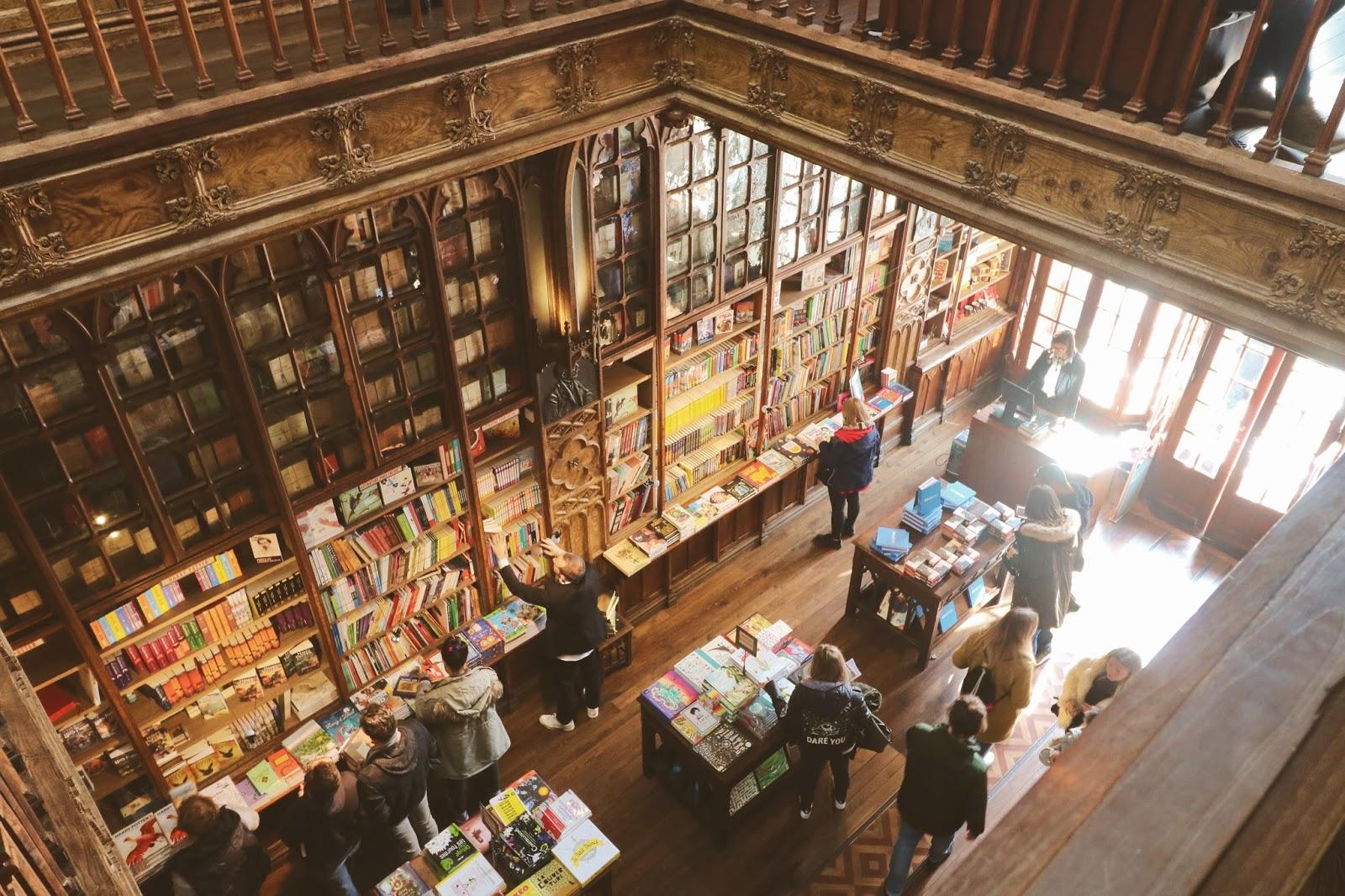 najpiękniejsze księgarnie świata