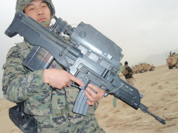 warhistory: South Korean K11 Dual- Caliber Air-Burst ...