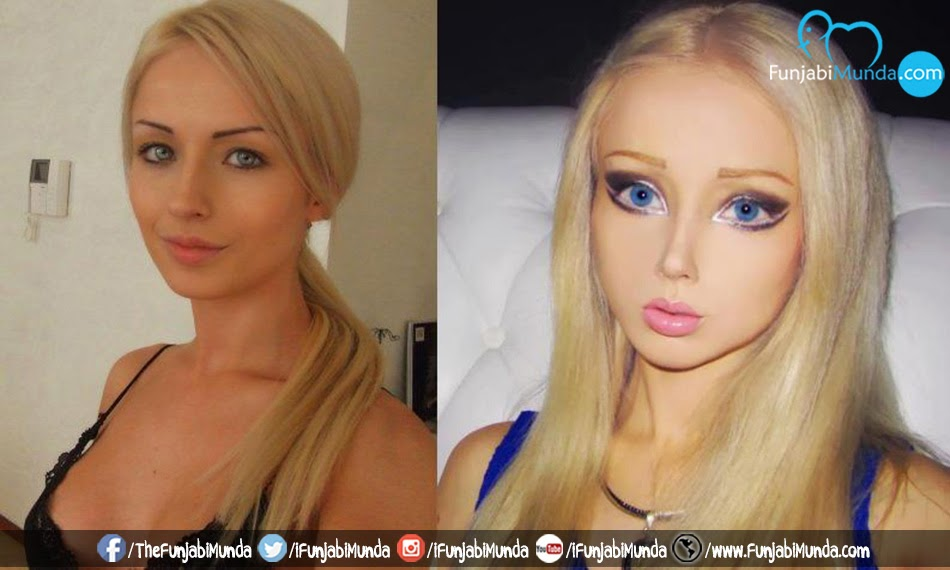 Real Life Barbie Before And After Body Valeria Lukyanova: A R...