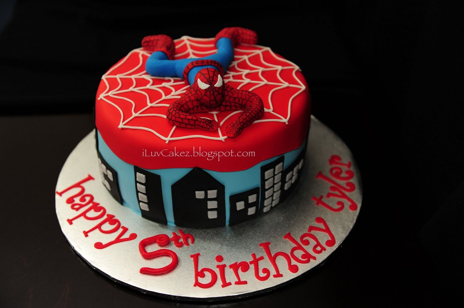 Iluv Cakez Spiderman Cake Tyler S 5th Birthday