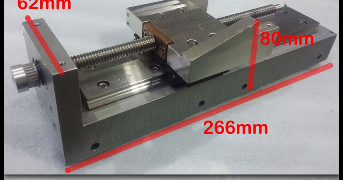 2nd MACHINE: Linear guide actuator, leadscrew system