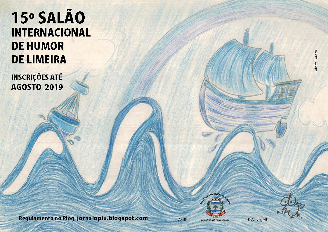 bfa52d1590969 15° SALÃO INTERNACIONAL DE HUMOR DE LIMEIRA/ 15th INTERNATIONAL HUMOR HALL  OF LIMEIRA
