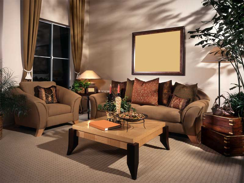 Walnut Living Room Furniture Sets Part 73