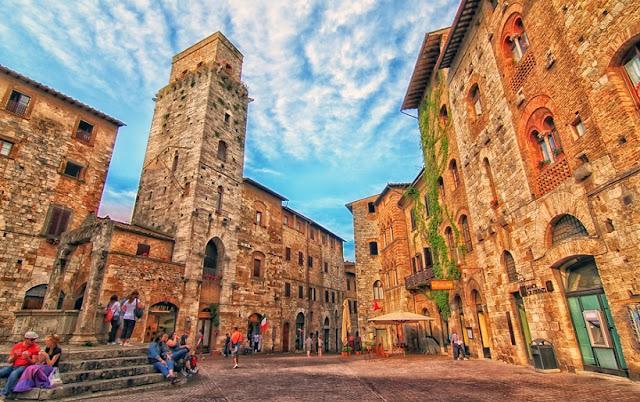 Principais pontos turísticos em San Gimignano