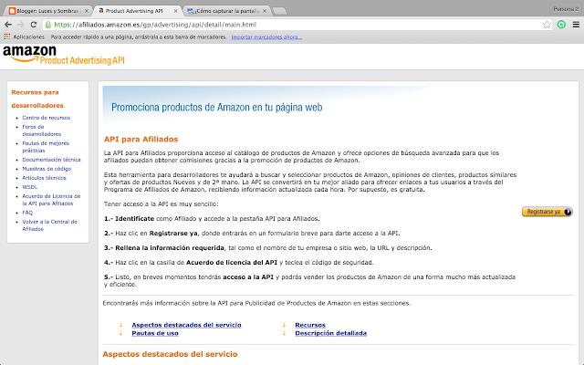 API Amazon