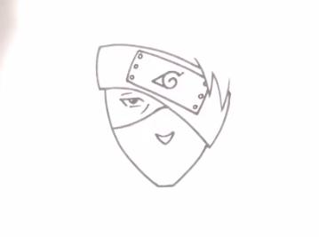 تعليم رسم الانمي | شخصية كاكاشي