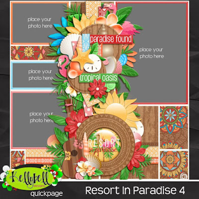 Paradise Found with Kellybell Designs