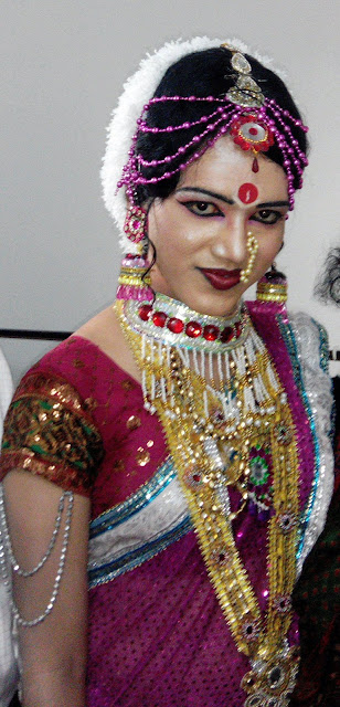 Indian Professional Crossdressing Dancer