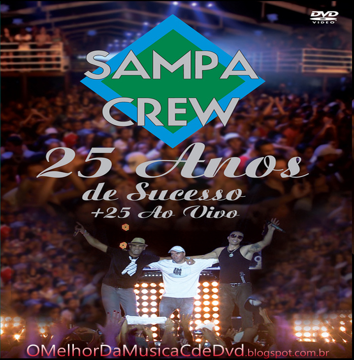cd completo sampa crew 25 anos