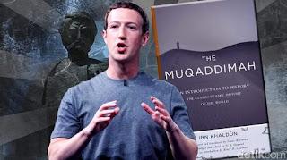 Mark Zuckerberg Terpesona Kitab Muqaddimah Karya Ibnu Khaldun