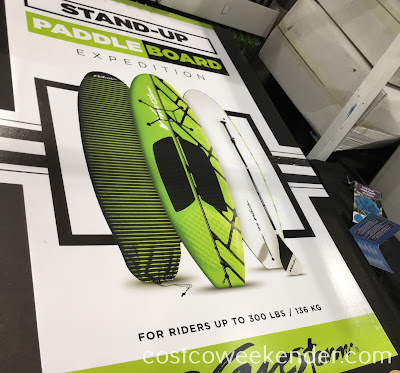 Hit the open water with the Wavestorm Expedition Stand-Up PaddleBoard