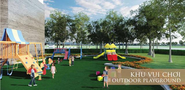 Khu vui chơi cho trẻ tại Eco Lake View