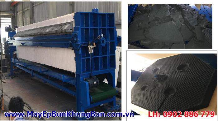Bán máy ép bùn khung bản Việt Nam và lắp đặt cho nhà máy Tôn Đại Thiên Lộc
